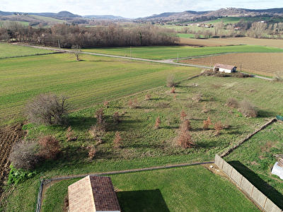 Plot of land with planing permission near Dausse